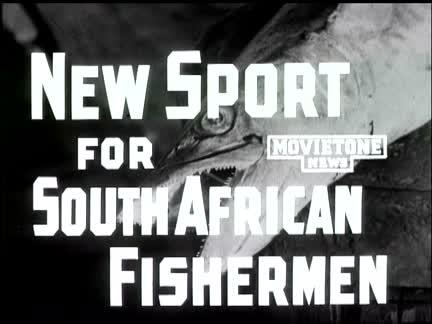 NEW SPORT FOR S AFRICAN FISHERMEN