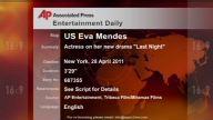 Entertainment US Eva Mendes