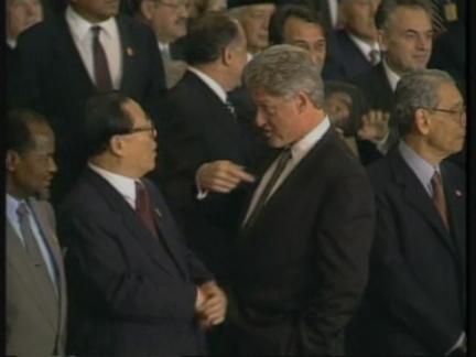 USA: CHINESE PRESIDENT JIANG ZEMIN TO VISIT US NEXT MONTH