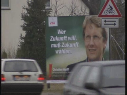 GERMANY: GENERAL ELECTION CAMPAIGN TO BEGINS WITH REGIONAL POLLS
