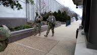 US DC Capitol National Guard