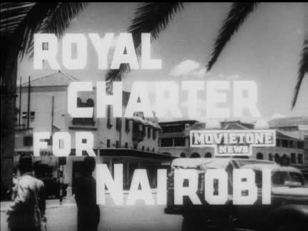NAIROBI BECOMES A CITY