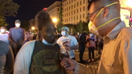 USA-Police Brutality/Protester Interview