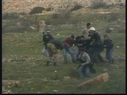 WEST BANK: 5 PEOPLE WOUNDED IN RIOTS AT JALAZOUN REFUGEE CAMP