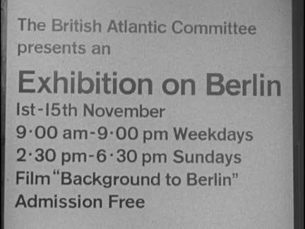BERLIN EXHIBITION - NO SOUND