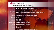 Entertainment US Oscar Fashion