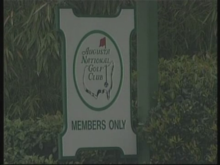 SNTV Golf Masters Protest