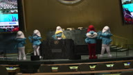 US Smurfs at UN