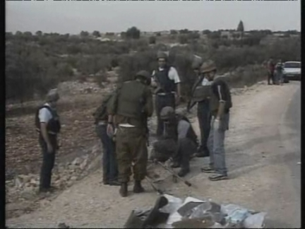 Middle East West Bank Jenin Settler