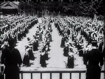 """Schoolboys """"Kendo"""" at Tokyo"""