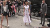 Chanel Outside Arrivals Paris Fashion Week 2014