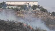 US CA Wildfire Reagan Library (Lon NR)