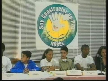 COLOMBIA: BOGOTA: CHILDREN'S GROUP NOMINATED FOR NOBEL PEACE PRIZE