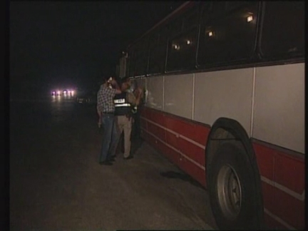 West Bank - Shooting incident involving bus
