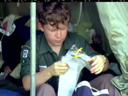 WORLD SCOUT JAMBOREE - IN COLOUR