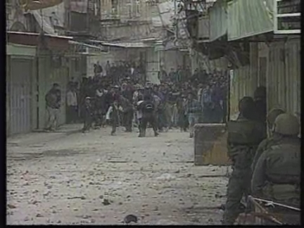 MIDDLE EAST: PALESTINIANS CLASH WITH ISRAELI TROOPS UPDATE