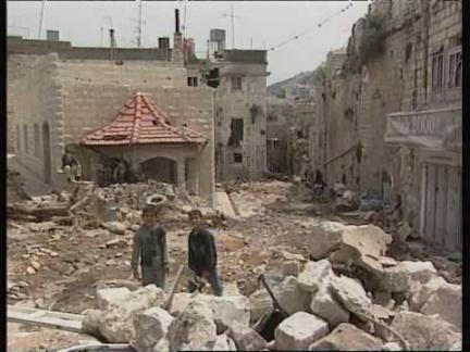 Middle East: Nablus Destruction