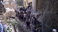 Lebanon Blast Survivor