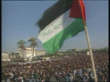 Israel/Gaza/Lebanon - Hamas' Anti-Arafat Rally