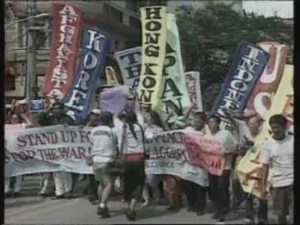 Philippines US Protest