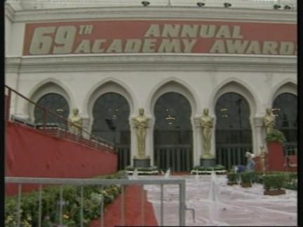 USA: LOS ANGELES: PREPARATIONS FOR ACADEMY AWARD OSCARS
