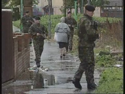 UK - Ulster patrols