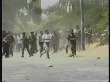 MIDDLE EAST: 6 PALESTINIANS KILLED IN CLASHES WITH ISRAELI SOLDIERS (2)