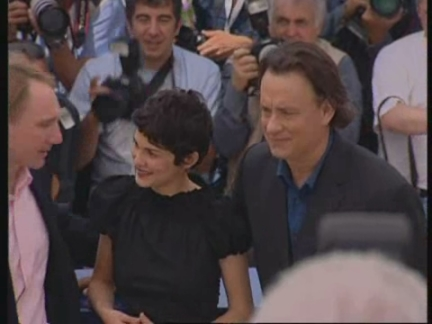 Entertainment Cannes Da Vinci Presser