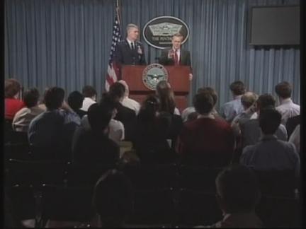 US Pentagon Briefing