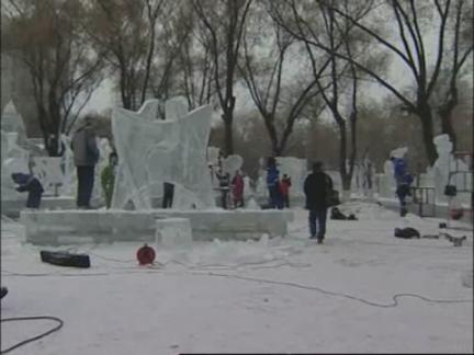 China Ice Sculpture