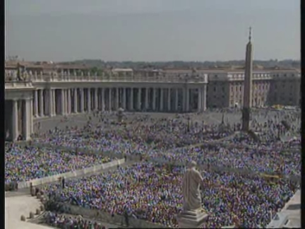 ITALY: BEATIFICATION CEREMONY PERFORMED BY THE POPE
