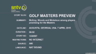 Golf Masters Preview 2