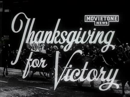 Thanksgiving For Victory