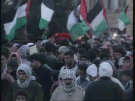 WEST BANK: PALESTINIAN SHOT BY UNDERCOVER ISRAELI SOLDIERS IS BURIED