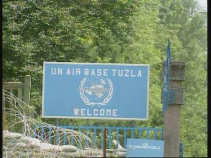 tuzla airport arrival