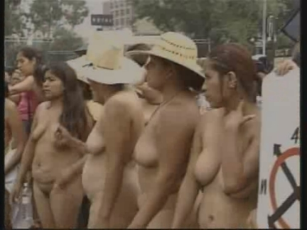 In nude the women Mexican